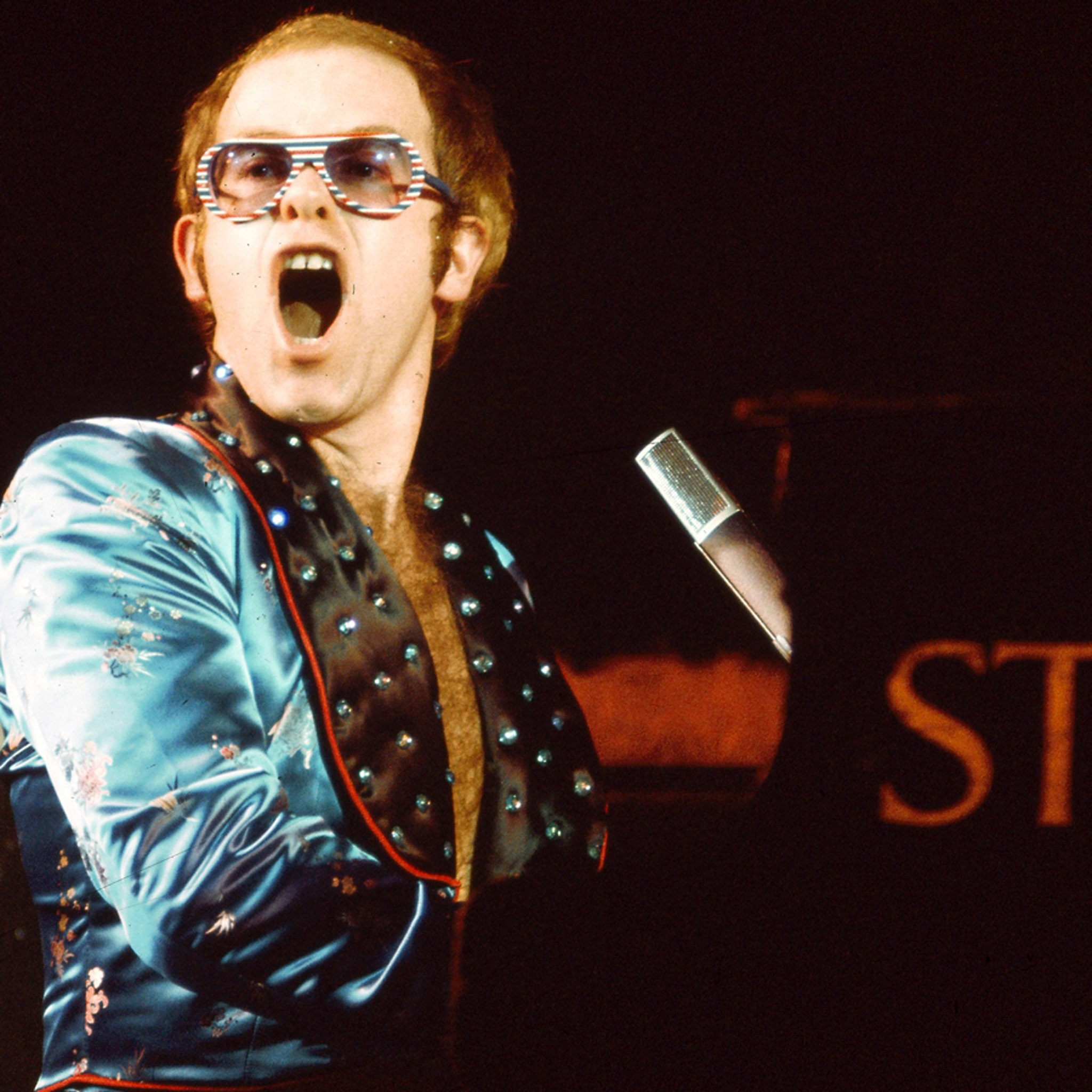 Elton John Auction Includes Costumes and Birthday Collage