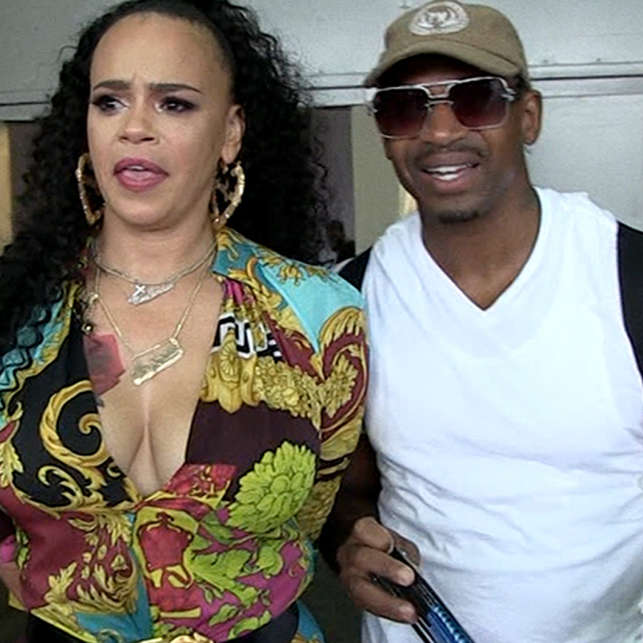 Faith Evans and Stevie J Downplay Marriage Trouble Rumors