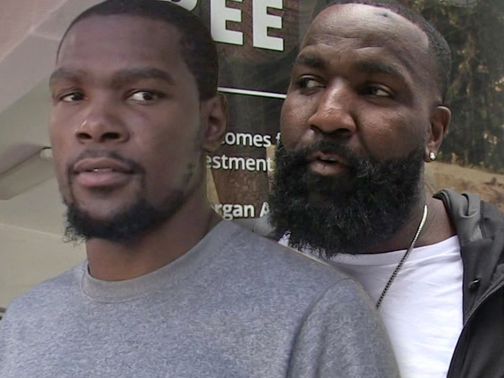 Kendrick Perkins Calls Kevin Durant Coward For Signing With Warriors Kd Claps Back