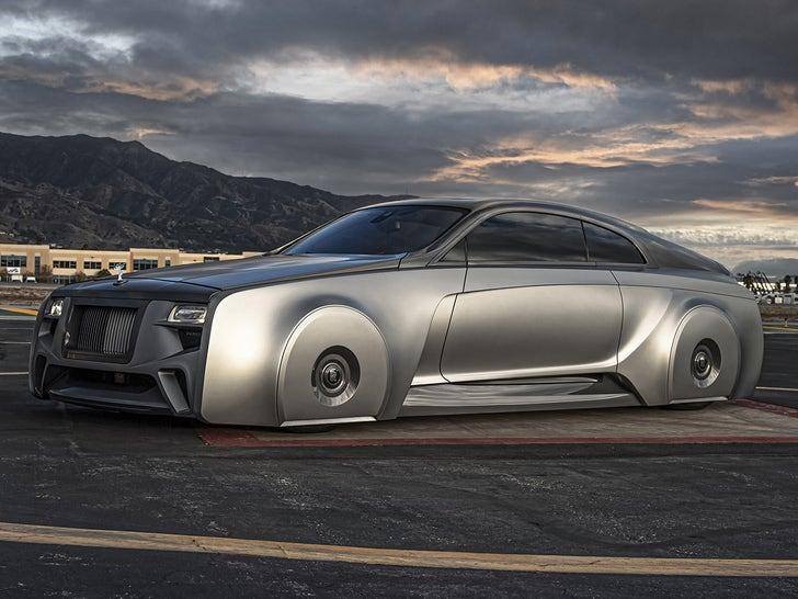 Justin Bieber's Futuristic Rolls-Royce Wraith