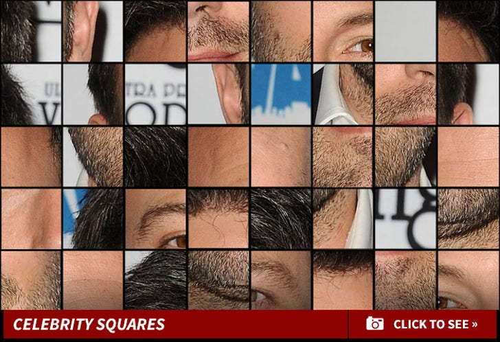 Celebrity Squares -- Guess Who!!!