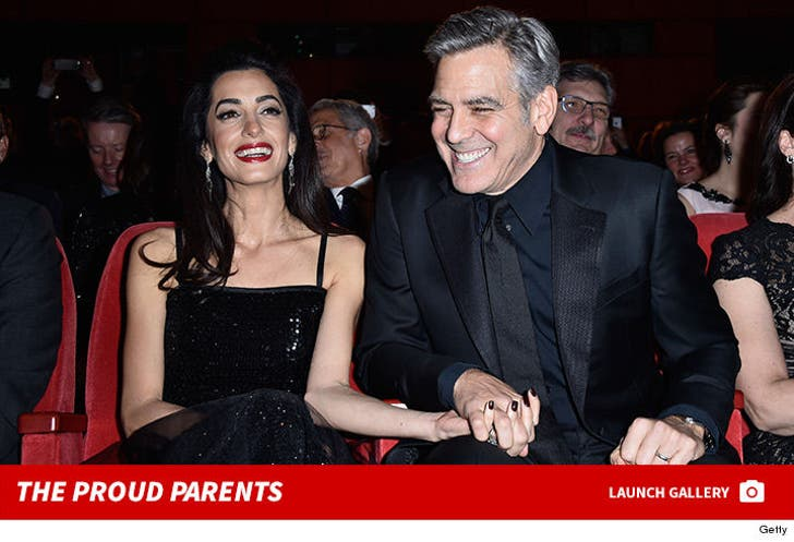 George and Amal Clooney Together