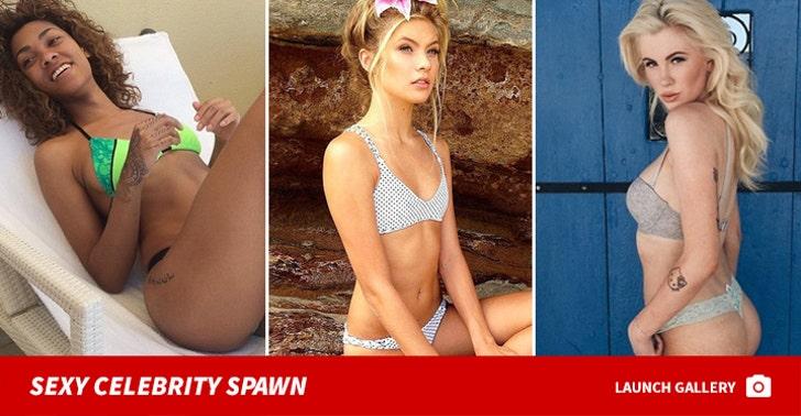 Sexy Celebrity Spawn
