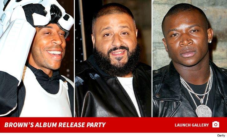 Chris Brown's Album Release Party