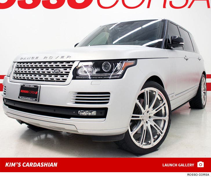 Kim Kardashian's Range Rover -- For Sale