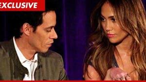 Marc Anthony and Jennifer Lopez Getting Along Post Split