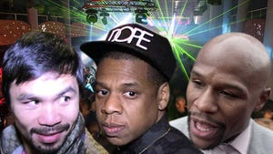 Jay Z -- Hosting Mayweather/Pacquiao Party ... $50k for V.I.P. Table