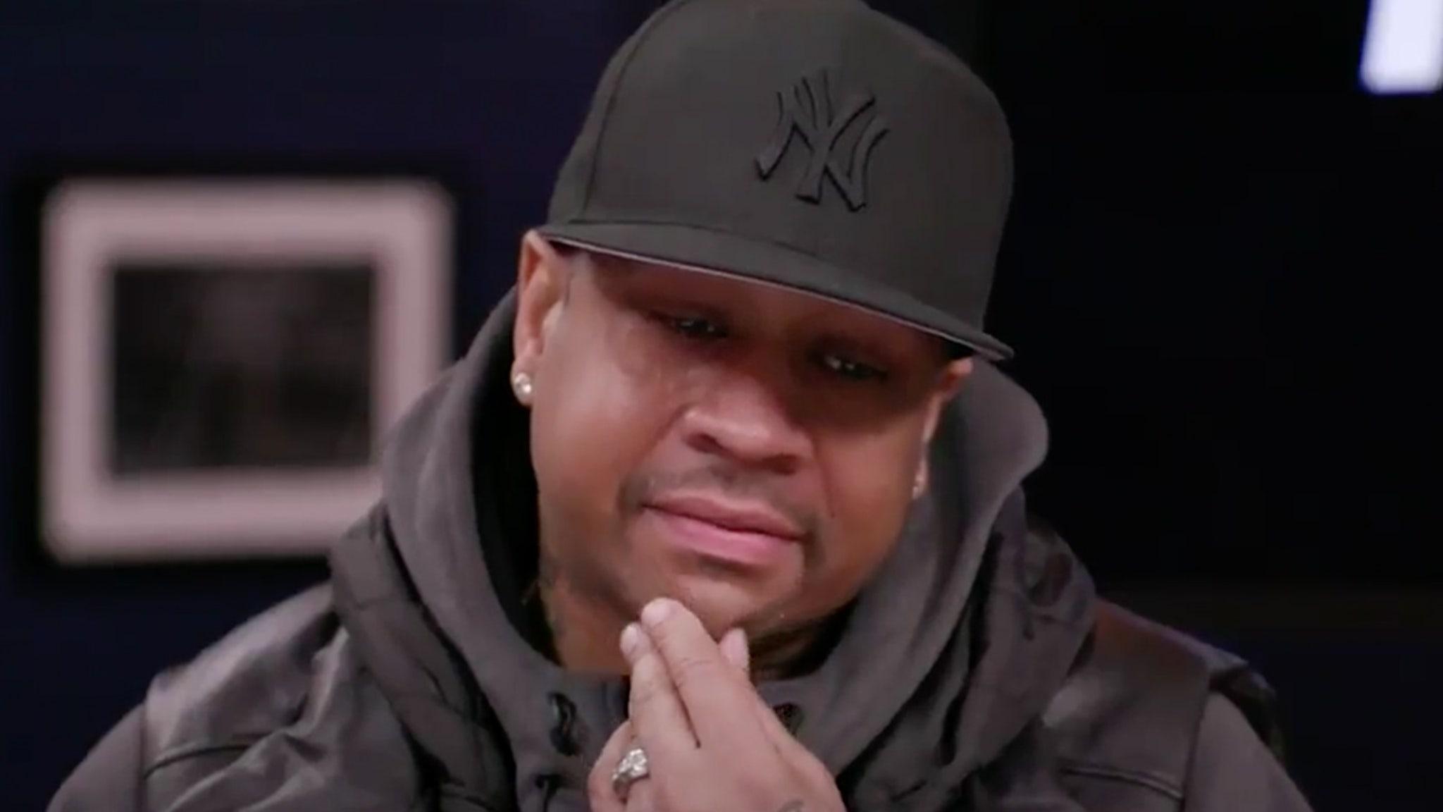 Allen Iverson Breaks Down Remembering Kobe ... 'My Guy'