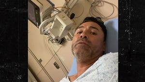 Oscar De La Hoya Out Of Belfort Fight Due To COVID, Holyfield Stepping In