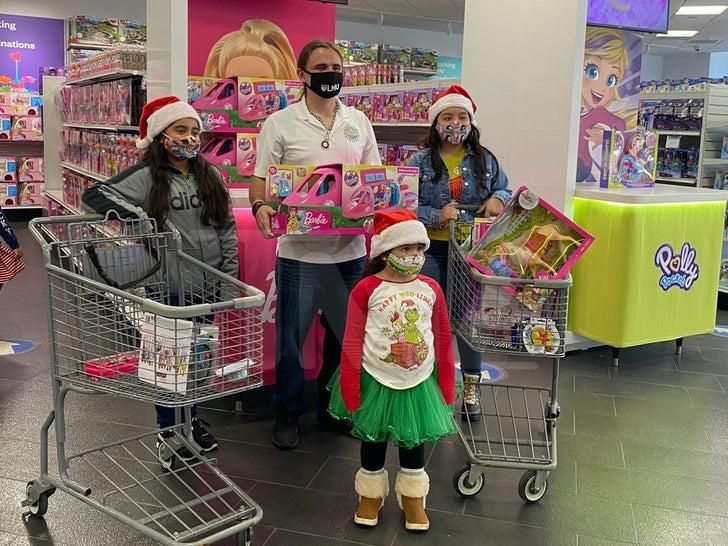 Prince Jackson's Foundation Gifts Kids Mattel Shopping Spree