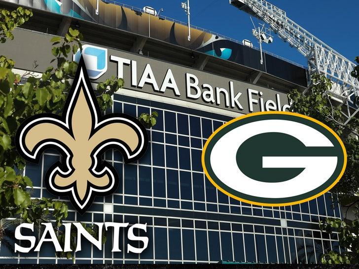 saints packers TIAA Bank field
