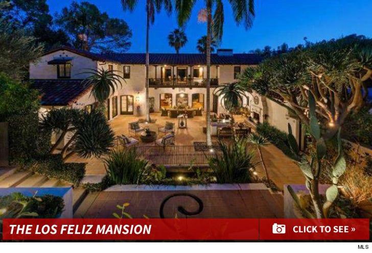 Robert Pattinson's Los Feliz Home