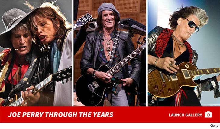 Joe Perry - Through the Years