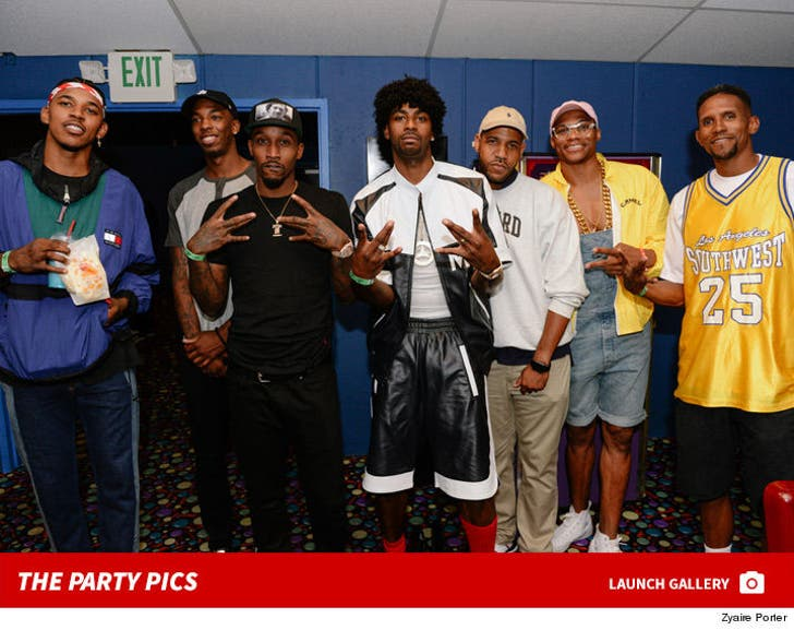 Dorell Wright's '90s Skate Party