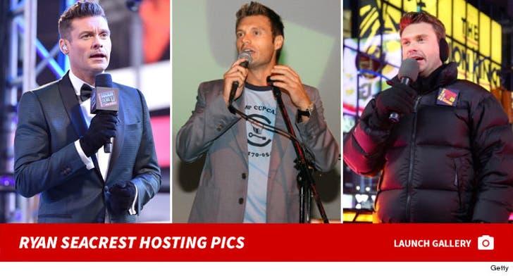 Ryan Seacrest Hosting Photos