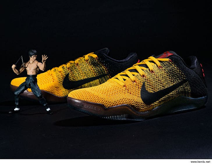 san francisco a1aeb 12ac4 Kyrie Irving Honors Kobe Bryant with Sick Bruce Lee Kicks