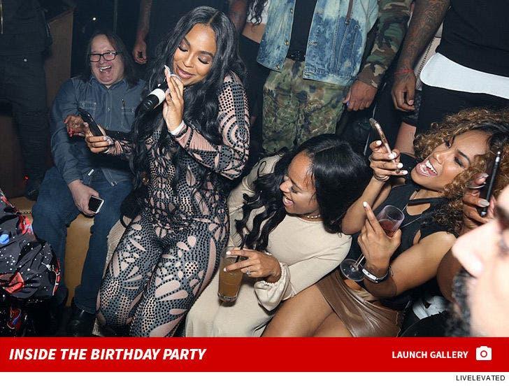 Inside Ashanti's Birthday Party Pics
