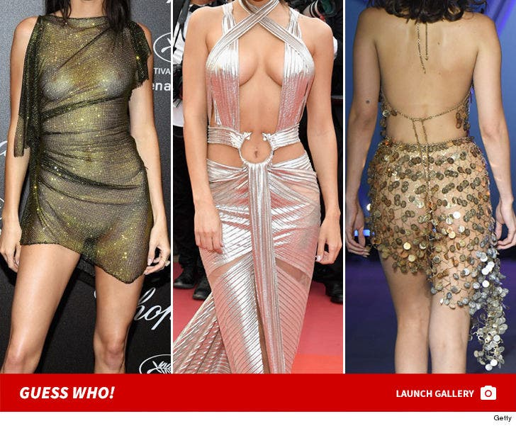 Cannes Craziest Looks -- Guess Who!