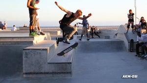 Justin Bieber -- Goes Public with Skateboarding Skills (VIDEO)