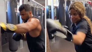 Russell Wilson Gets Sweaty With Ciara In Boxing Sesh, 'We Will Whoop Dat'