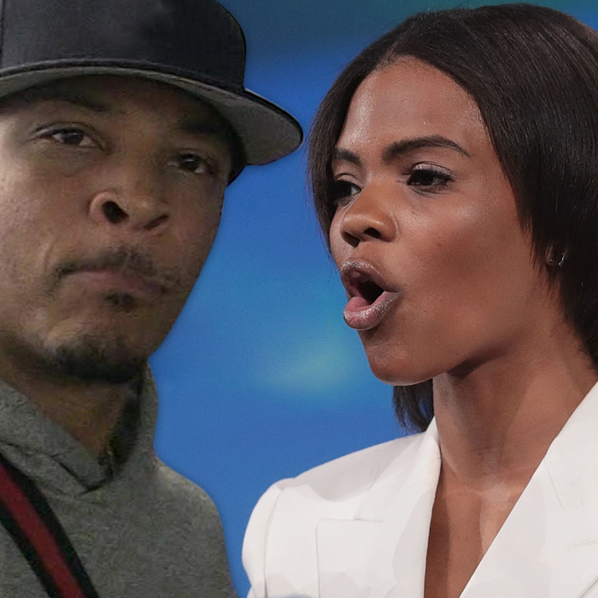 T.I. Asks Candace Owens When Was America Great, She Deflects
