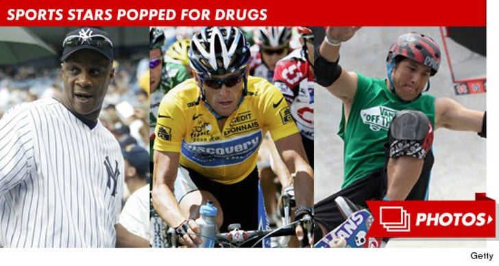 Sports Stars Popped For Drugs