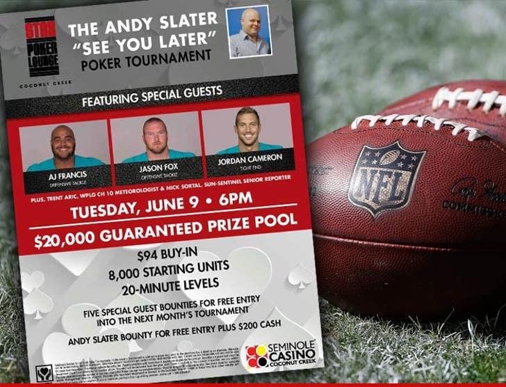 NFL's Jordan Cameron -- NFL Blocks Pro Bowler from Poker Tourney