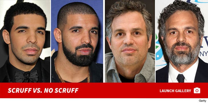 Who'd You Rather? No Scruff vs. Scruff