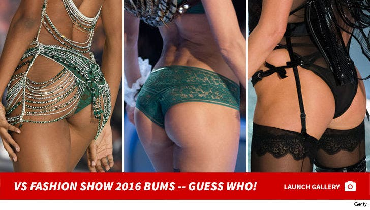 2016 Victoria's Secret Fashion Show -- Guess The Model Booty