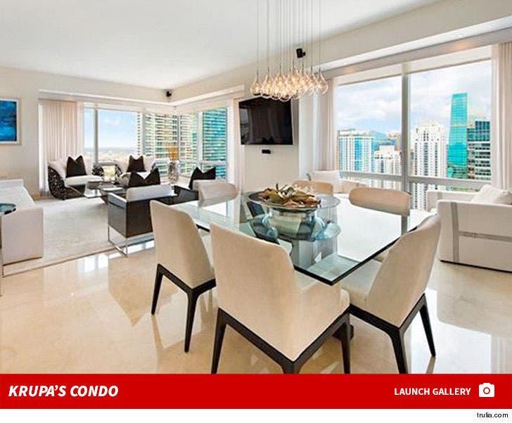 Joanna Krupa Miami Condo -- For Sale