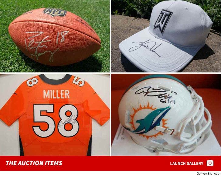 Broncos Auction Items
