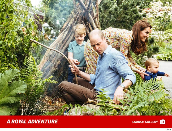 Royal Family Visits 'Back to Nature' Garden