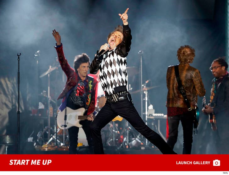 Mick Jagger Performs with Rolling Stones First Time Since