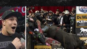 Rob Gronkowski Makes 300-Pound BFF Ride Bull ... Pain Ensues (VIDEO)