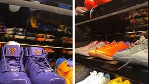 Drake Shows Off Massive Kobe Sneaker Collection On Kobe Bryant Day