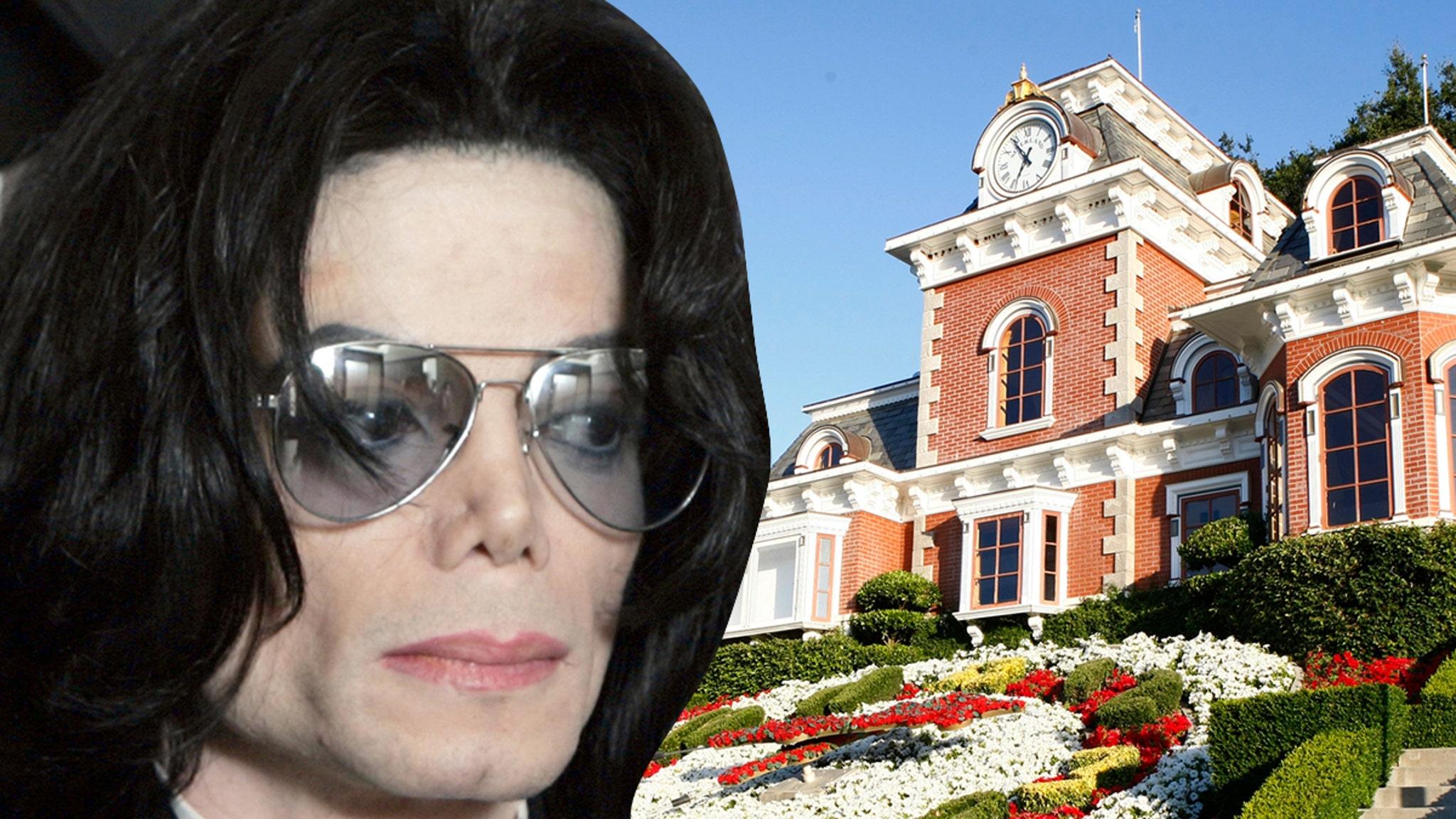 Alleged Trespasser Shoots Music Vid at Michael Jackson's Neverland Ranch