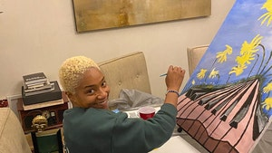 Tiffany Haddish Painting to be Auctioned, Benefits Inner-City Arts Students