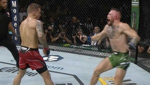 Conor McGregor Breaks Leg, Stretchered Out Of Octagon At UFC 264