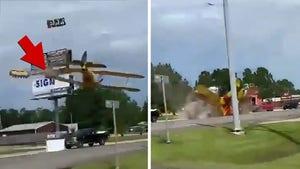 Incredible Video of Plane Crash on Texas Highway