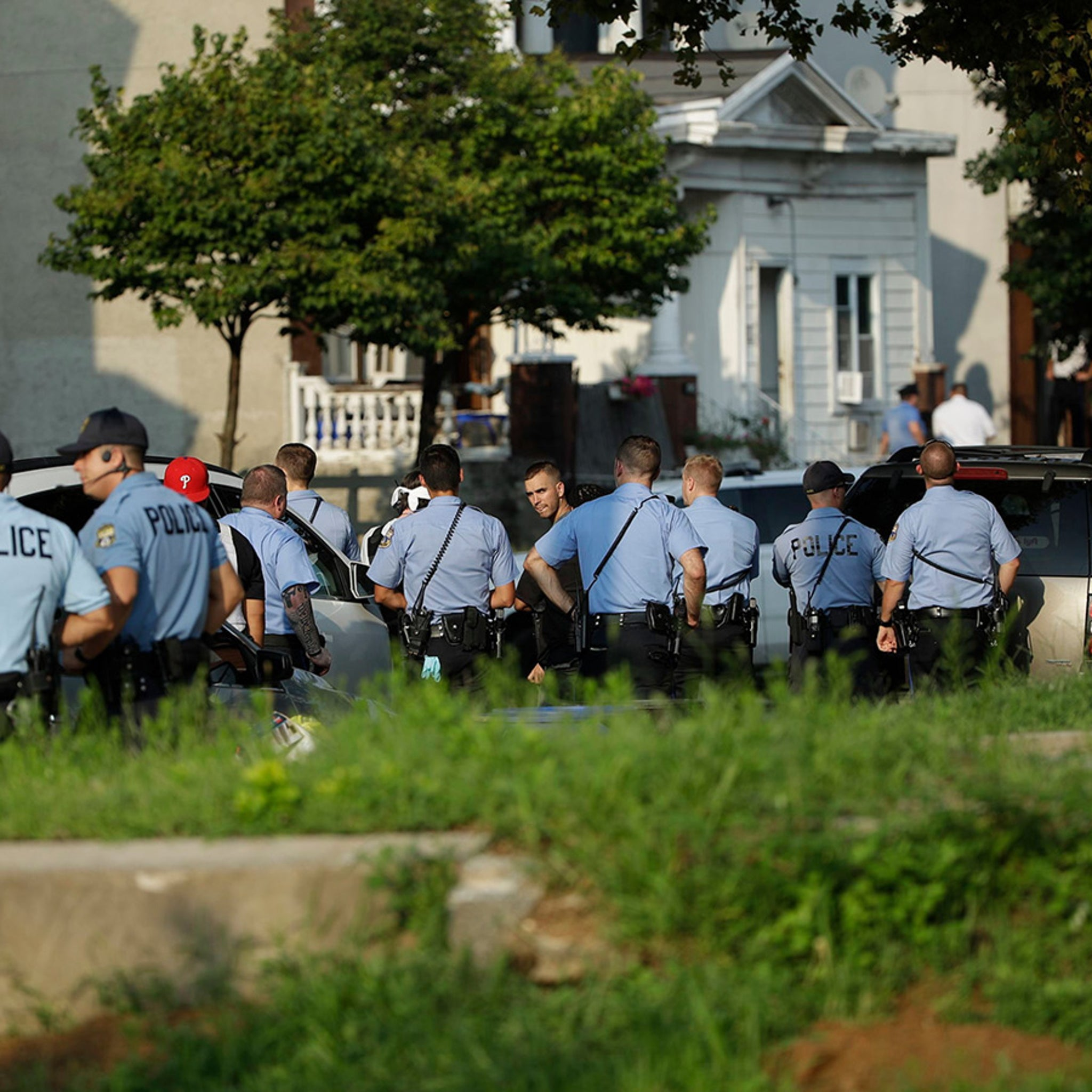 Multiple Police Officers Shot in Philadelphia, Suspect Barricaded