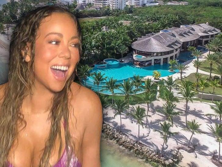 Mariah Carey's Massive Dominican Republic Pad