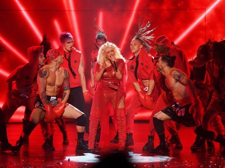 Christina Aguilera's Vegas Show