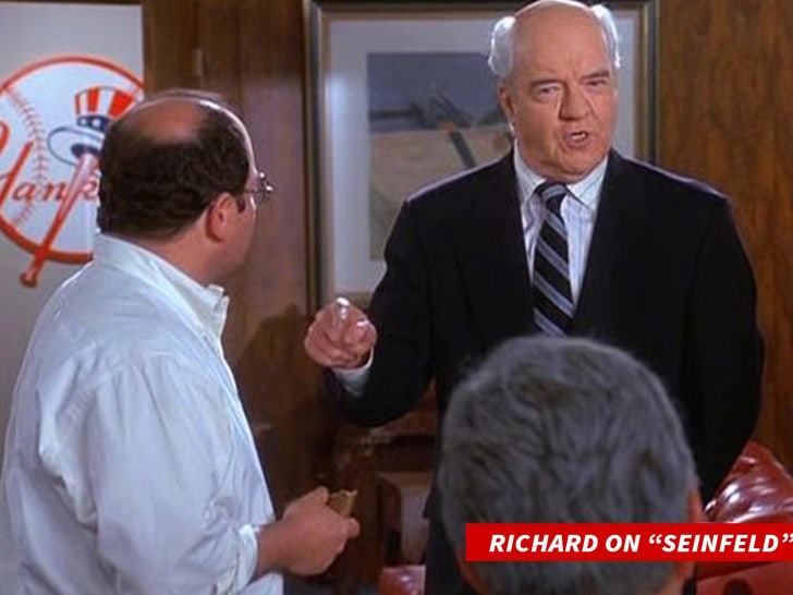 Actor Richard Herd, Mr. Wilhelm on 'Seinfeld,' Dead at 87 - EpicNews