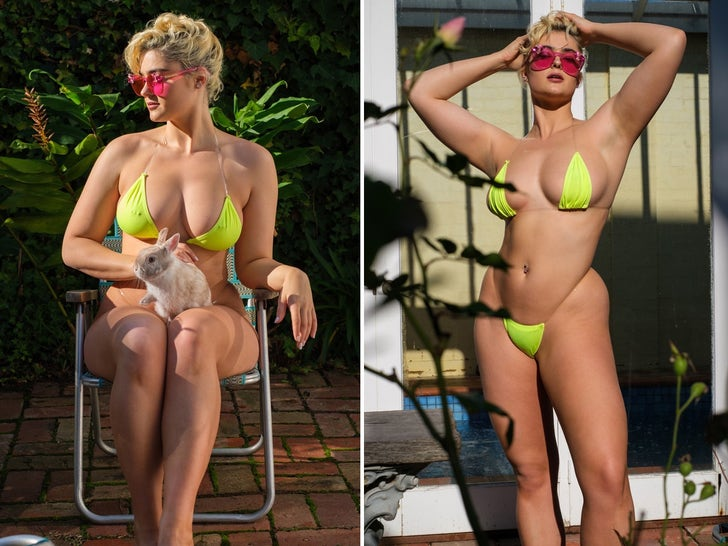Stefania Ferrario -- Hare-Raising Hot Shots From Down Undah!