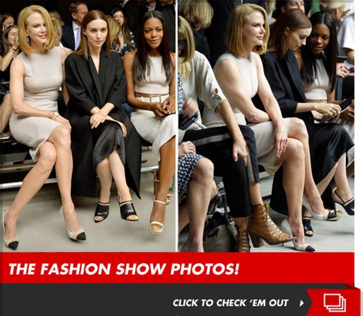 Nicole Kidman at The Calvin Klein Fashion Show