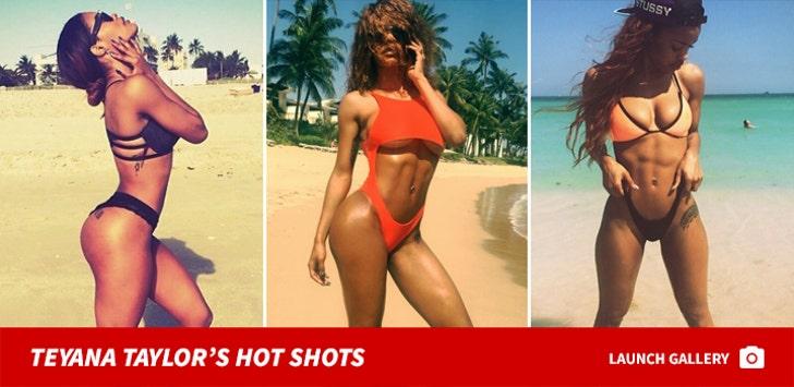Teyana Taylor's Hot Shots