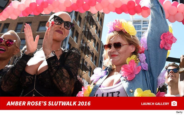 Amber Rose -- SlutWalk 2016