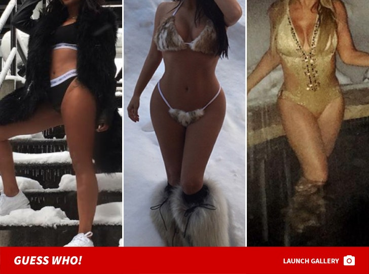 Hot Stars in Cold Snow -- Guess Who!