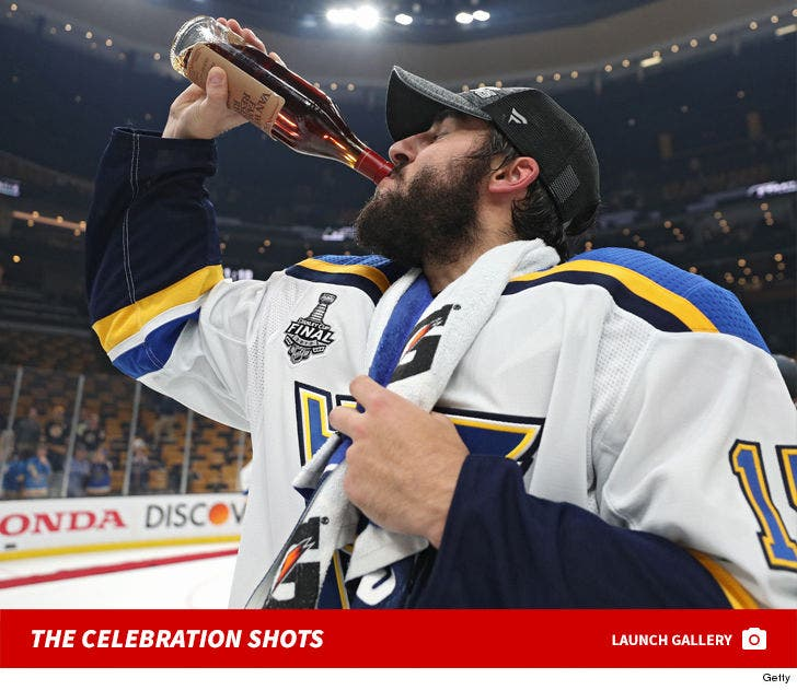 new concept 66eb7 8040e STL Blues' Robby Fabbri Chugs $1,200 Pappy Van Winkle After ...