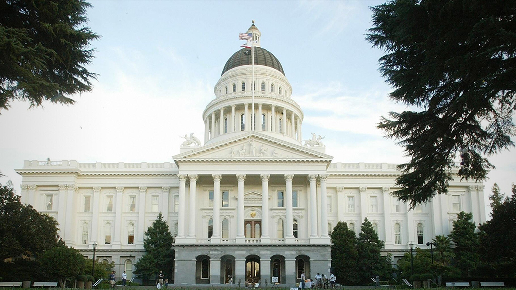 Anti-Vaccine Protester Throws Apparent Menstrual Blood at CA Lawmakers
